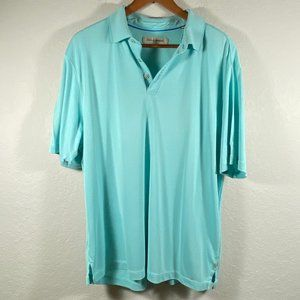 Tommy Bahama Aqua Colored Polo